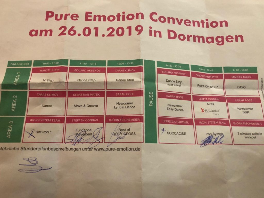 Pure Emotion Convention Dormagen