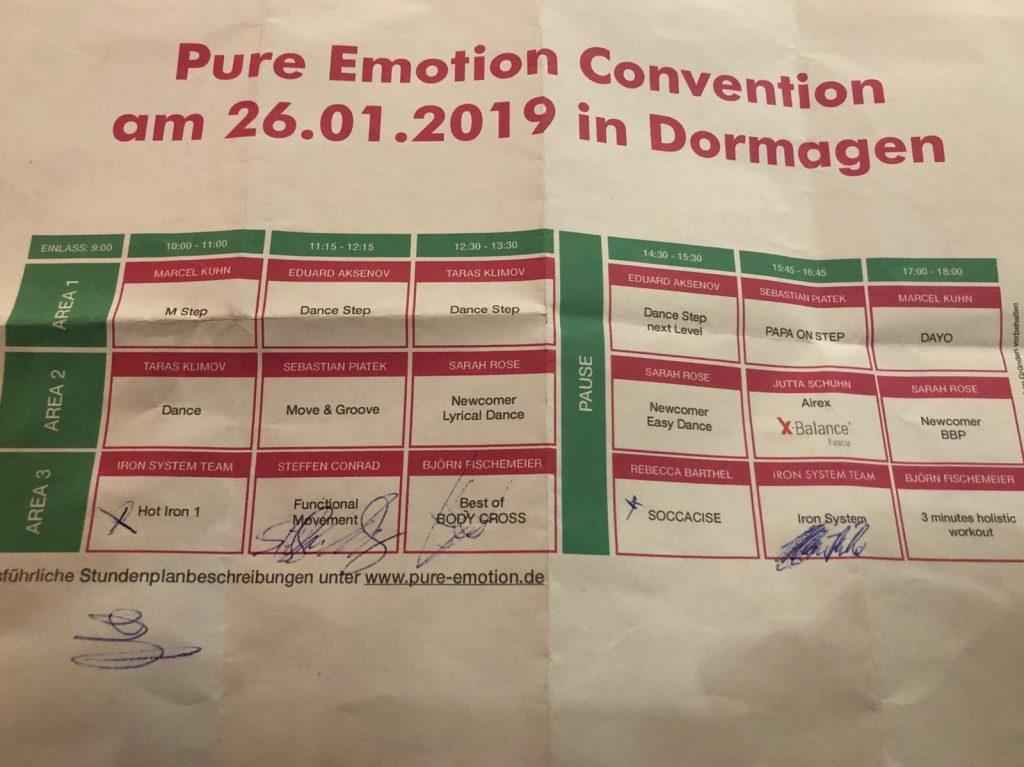 Pure Emotion Convention Dormagen